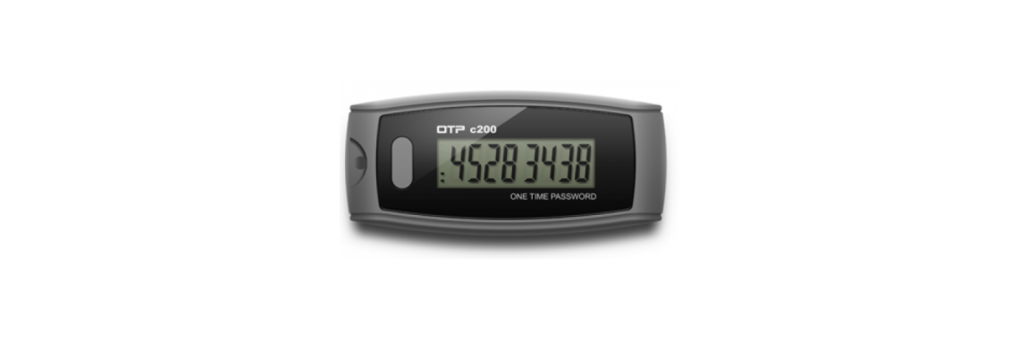 OTP Token C200 (big display) - strong authentication